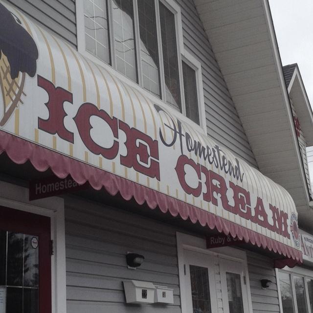Homestead Ice Cream on Victoria Avenue