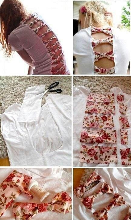 DIY Shirt Bows!