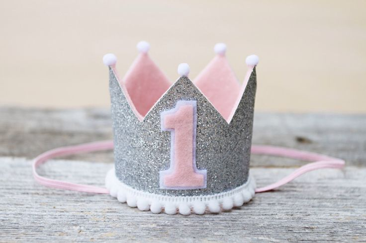 Girls 1st Birthday Pink and Silver Mini Crown - Winter Onederland Mini Headband Crown - Photo Prop by LaLaLolaShop on Etsy https://www.etsy.com/listing/233714421/girls-1st-birthday-pink-and-silver-mini
