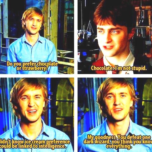 : Toms, Tomfelton, Harrypotter, Ice Cream, Movie, Dark Wizard, Harry Potter, Potterhead, Tom Felton