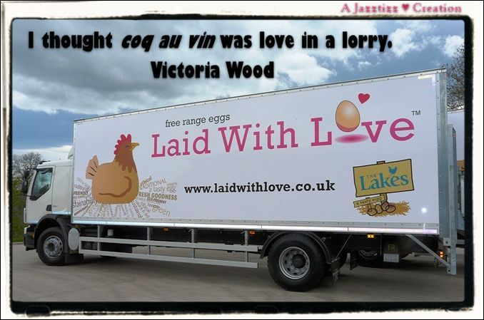 victoria wood / coq au vin / love in a lorry