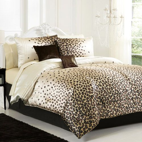 lepord Print Bedroom Ideas | leopard bed design Room decor design with the leopard idea
