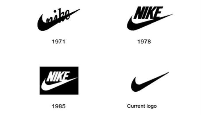 bueno calidad primero calidad confiable Evolucion de los logos de nike | Nike, Evolucion
