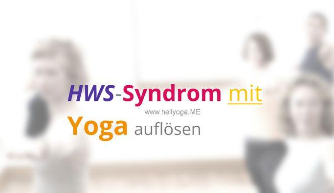 HWS-Syndrom mit Yoga auflösen FRAGE Eine Schülerin von mir hat schon seit längerer Zeit Nacken- und Schulterverspannungen. Sie ist erst seit kurzem bei mir, zunächst im Einzelunterricht, natürlich übe ich mit ihr diese Techniken, die die Nacken- u… Tags: HeilyogaPosting