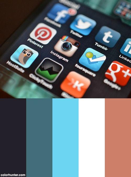 Instagram App Color Scheme