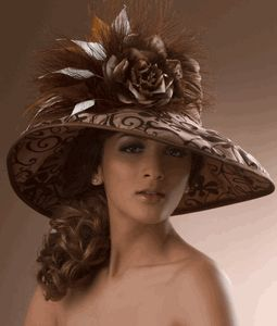 .: Paris Fashion, Fashion Models, Wide Brimmed, Hats Hats Hats, Mad Hatters, Street Style, Silk Derby, Brimmed Silk, Kentucky Derby Hats
