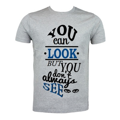 Look vs See T-Shirt. size: S M L XL. Order: 087782342244 info@excelcy.com