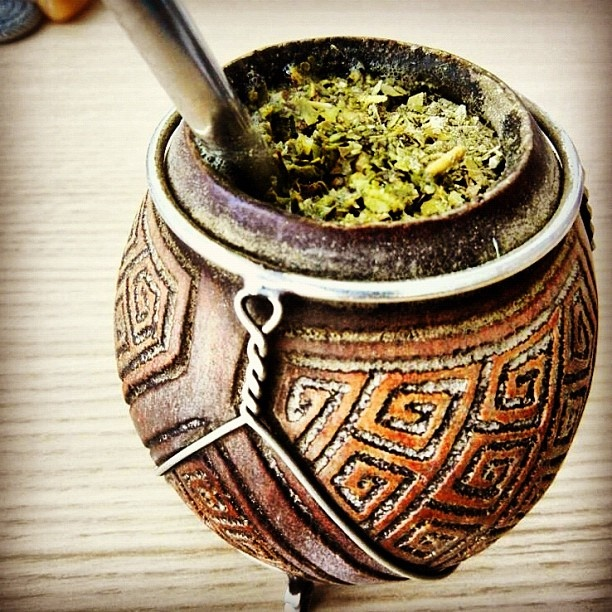 Mate!! A classic Argentinian drink,