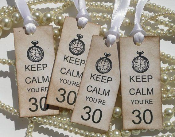 30th Birthday Ideas | Keep Calm You're 30