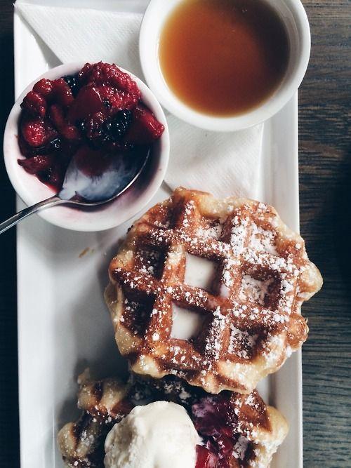 Breakfast at Cafe Medina - Vancouver.