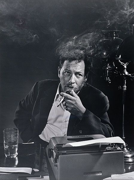 Tennessee Williams, 1956    by Yousuf Karsh