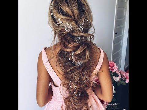 Gorgeous Bridal Hairstyles | @ulyana.aster - YouTube