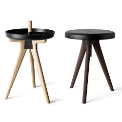 Menu Flip Around Table by Norm Architects | Scandinavian designed tray table stool hybrid