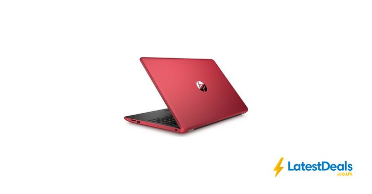 "HP Intel® Core™ I3-7100U Processor 15.6"" Laptop - Red, £349 at Currys PC World"