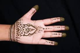 simple henna hand designs - Google Search