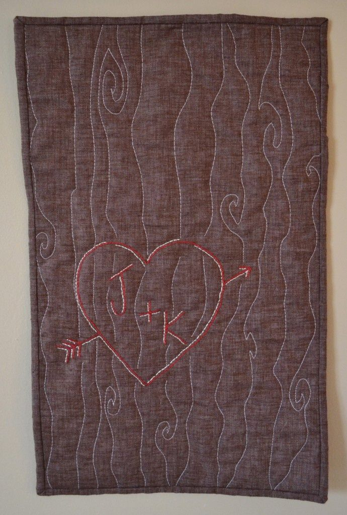 valentine quilt Would make a cute wedding shower gift