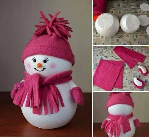 come fare un pupazzo di neve 01