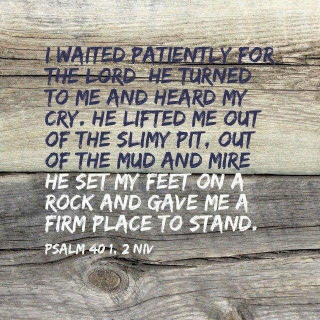 Psalm 40 1-2