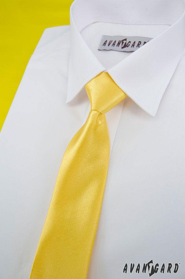 Žlutá inspirace nejen na svatbu / Yellow (wedding) inspiration  Žlutá chlapecká kravata / Yellow boys tie