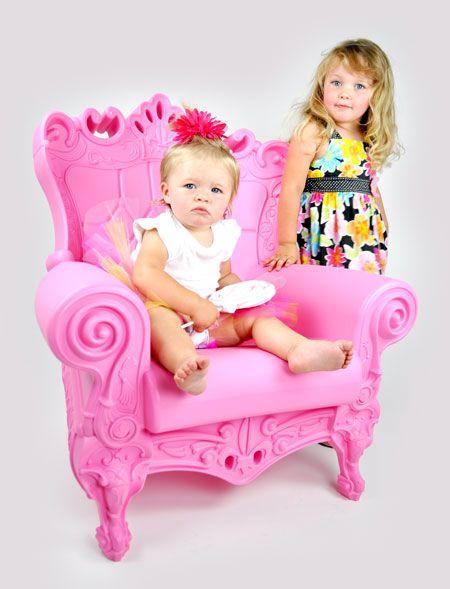 fauteuil Queen of Love style baroque armchair