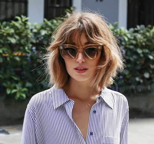 Abgehackte Kurzhaarfrisur - #Choppy #hairstyle #Short ... - #Choppy #hairstyle