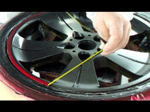 How To Repair Your Car Wheels Paint Rims Candy Red Black カスタムペイント キャンディー塗装 Youtube カスタムペイント ホイール 塗装 ホイール