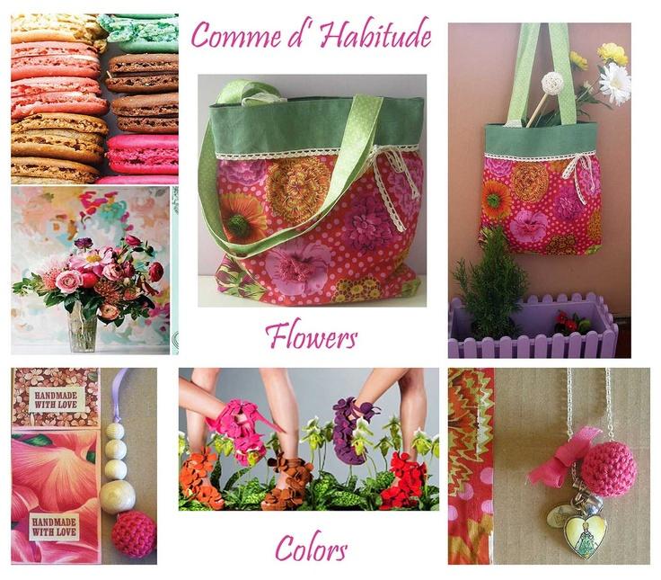 Moodboard flowers..  https://www.facebook.com/CommeDHabitudeAccessories