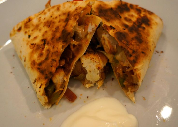 7pp Chicken Fajita Quesadilla — Lulabella's Kitchen
