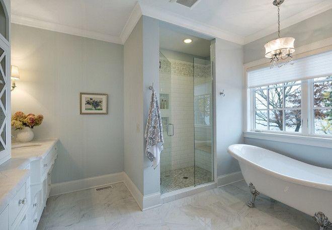 25 Best Ideas About Blue Gray Bathrooms On Pinterest