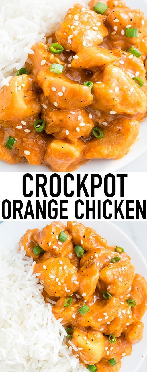 Best 25 easy orange chicken ideas on pinterest orange chicken this easy slow cooker orange chicken recipe with sweet and sour flavors is best served with forumfinder Choice Image