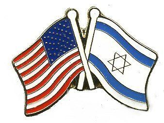 "Lot of 12 Israel and American Flag Friendship Hat Lapel Pins by Pins Patches and More. $9.00. Wholesale lot of 12 new lapel pins. Each pin measures about 1""x1"" , is made of metal with an enamel overlay. These can be used as hat , cap or lapel pins . Some use them as a tie tac , badge & even push pins for bulletin boards. You will be receiving a wholesale lot of 12 pins & each pin will be exactly alike."