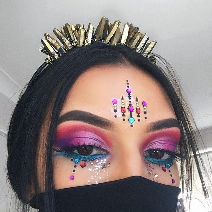 The 25+ best Carnival makeup ideas on Pinterest ...
