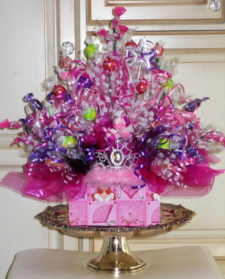 For that special little princess who is having a birthday....Happy Birthday Princess Candy Bouquet