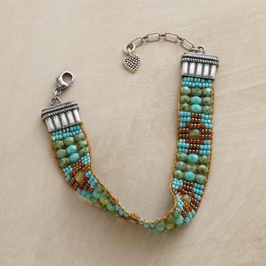 loomed bracelet