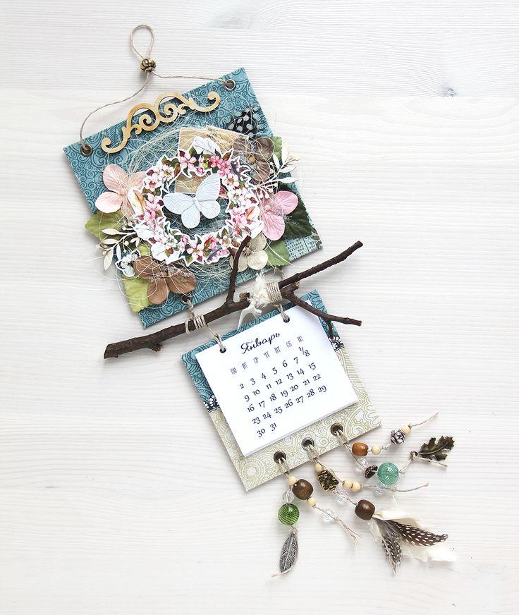 Творческая мастерская Мемуарис: Вдохновение от дизайнера: настенный календарь от Т...