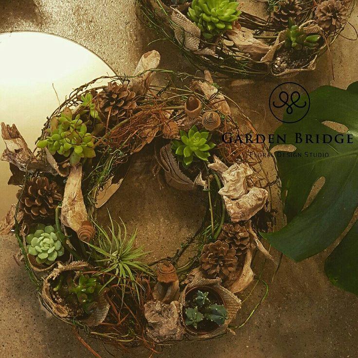 plant arrangement wreath GardenBridge academy seoul