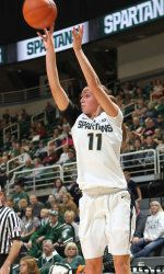 The Michigan State women's basketball team closes out its three-game homestand on Sunday, when it hosts Robert Morris at 4 p.m. The Spartans are looking to begin the season 5-0 for just the fifth time in program history. MSU has been stellar defensively this season, allowing only 38.0 points per game. #spartans www.msuspartans.com