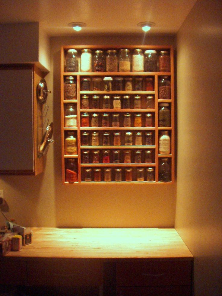 Fancy Spice Rack. Kitchen ...