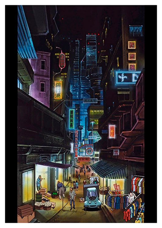 Cowboy Bebop Anime Poster, available at 45x32cm. This poster is printed on matt coated 350 gram paper.
