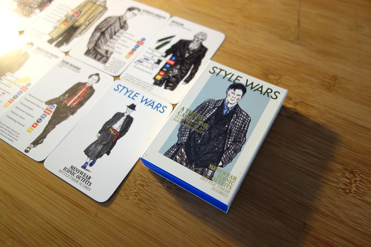 """Menswear Designers Battle in the New """"Style Wars"""" Card Game"""