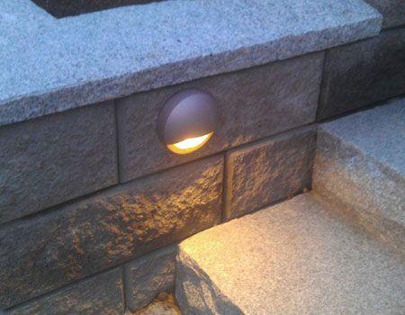 Utomhusbelysning på mur - In-Lite
