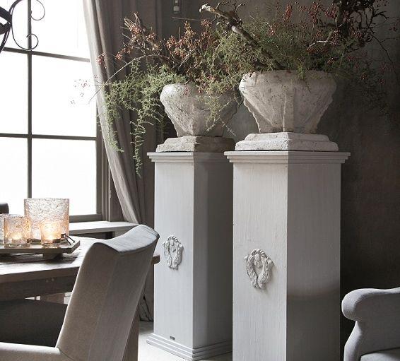 Kukkapilarit wonen landelijke stijl woonkamer by hoffz interieur sisustus pinterest - Houten interieurdecoratie ...