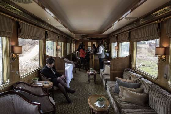 Luxurious train journeys - GIANLUIGI GUERCIA/AFP/Getty Images/Getty Images