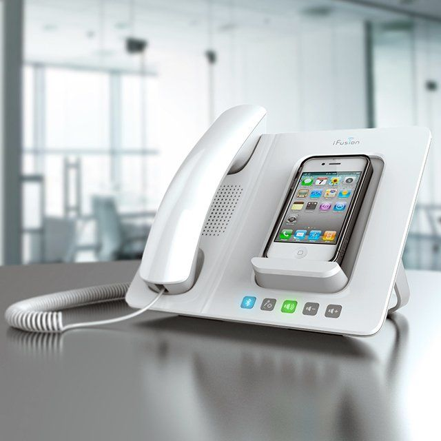 Ideal for calls when you want to talk hands free with a high quality speakerphone designed specifically for the iPhone. Ideal for use in your home office Start a video conference using apps such as FaceTime or Skype Integrated dock charges your phone faster than USB Enjoy streaming music from your iPhone Compatible with iPhone PBX apps