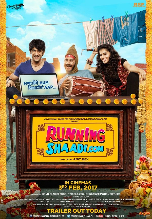 First Look: Taapsee Pannu and Amit Sadhs Running Shaadi.com looks entertaining