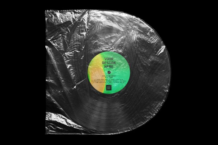Ad Vinyl Record Mockup By Bulbfish On Creativemarket Say Hello To This Great Vinyl Lp Record Mockup Sc Texture Graphic Design Cover Art Design Vinyl Records