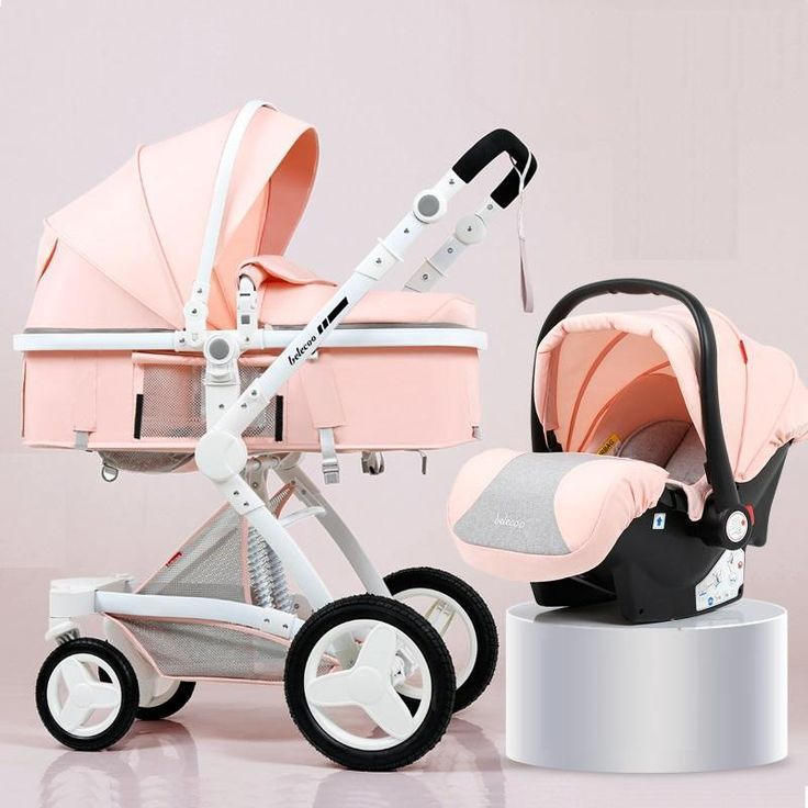 Luxus-Kinderwagen 3 in 1 Travel System mit Kindersitz   – Baby supplies!