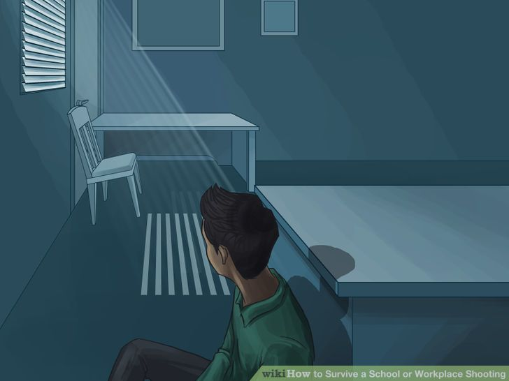 How to Survive a School or Workplace Shooting