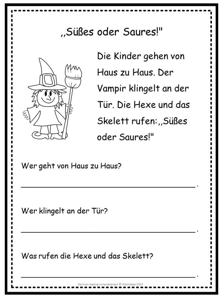 free german reading comprehension enjoy germany pinterest comprehension reading and. Black Bedroom Furniture Sets. Home Design Ideas
