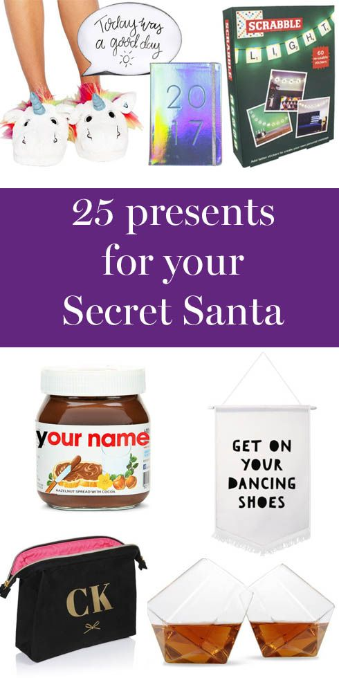 Affordable present ideas for Secret Santa